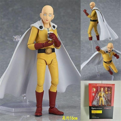 Anime One Punch Man Hero Saitama Figure Figma 310 Collection Toy New in Box