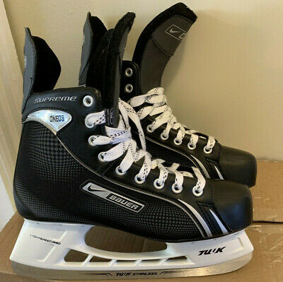 BAUER SUPREME ONE 80 Ice/Inline Hockey Goalie Skates  7 5ee