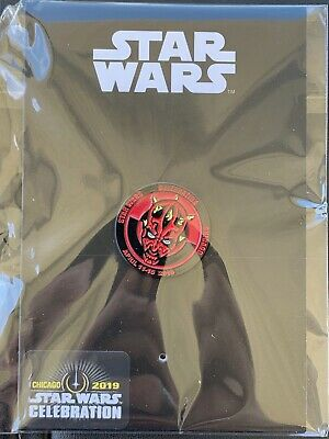 2019 Star Wars Celebration Chicago EXCLUSIVE Darth Maul Pin