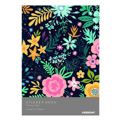 NEW Kaisercraft Paisley Days Sticker Book By Spotlight