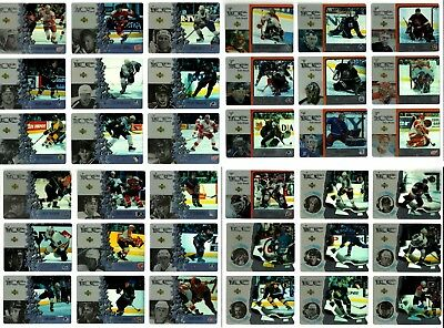 1997-98 MCDONALDS UPPER DECK ICE HOCKEY COMPLETE 40 CARD SET LOT Gretzky Roy CL