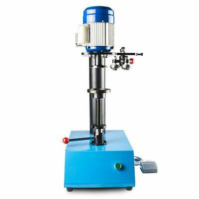 Manual Cans Sealing Machine Dried Fruit Tin Can Sealer Capping Machine 85mm 110V