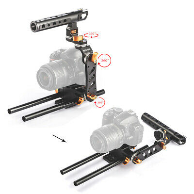 Professional Camera Cage Protective Video Cage General DSLR Cage Set for Canon