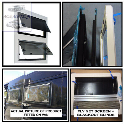 Caravan Motorhome Cassette Windows Camper horsebox 500x350mm