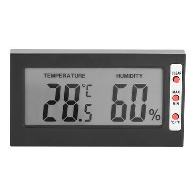 Digital LCD Temperature Humidity Meter Hygrometer Thermometer 0~50℃ 10%RH~99%RH