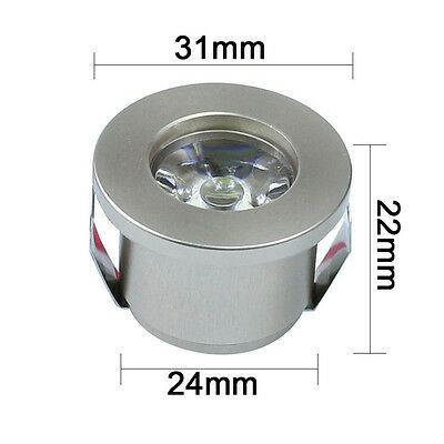1/3W Mini Led Cabinet Downlight Recessed Spot lights Driver Ceiling Lamp Mounted