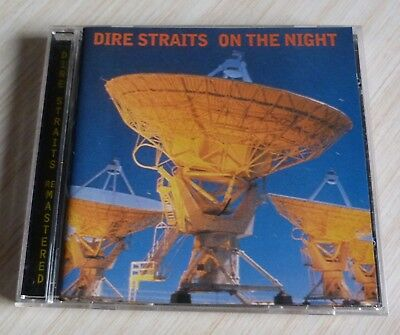 Cd  Album Remastered On The Night Dire Straits 10 Titres 1996