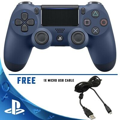 PS4 DualShock 4 Controller Midnight blue V2 BRAND NEW SEALED OFFICIAL