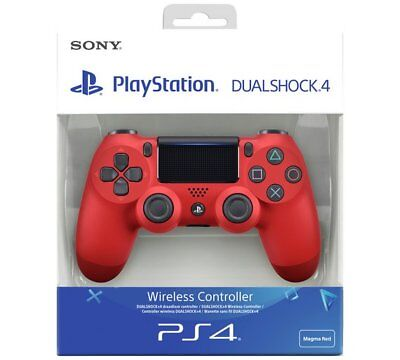 PS4 DualShock 4 V2 Wireless Controller - Magma Red