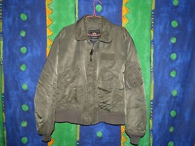 new product b0090 b77c6 RARISSIMO GIUBBOTTO ALPHA Industries Bomber Harringhton 90'S Style Taglia  Large