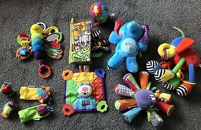 Baby Soft Toy Bundle 0-12 Months Lamaze and Jellycat