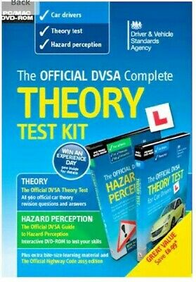 The Official DVSA Complete Theory Test Kit: 2018 by Driver and Vehicle...