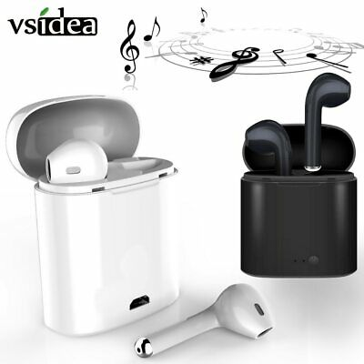 i7s TWS Wireless earphone in-ear Bluetooth earphones Earbuds Headset With