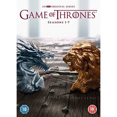 📀 Game of Thrones Box Set - Season 1-7 Free Fast delivery 📀
