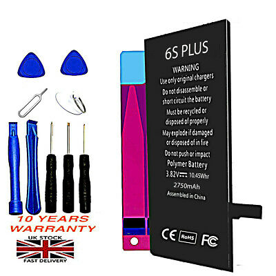 New Genuine Capacity Internal Replacement Battery for iPhone 6S Plus 2750mAh Kit