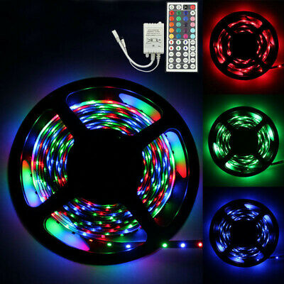 10m RGB 5050 DE COLORES TIRA DE LUCES LED Decoración SMD 44 Llave a distancia