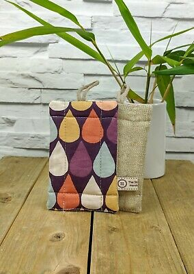 Eco Friendly Washing Nosponge Handmade dual sided organic cotton and linen
