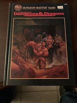 Advanced Dungeons and Dragons: The Dungeon Master's Guide by Zeb Cook (1995,...