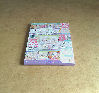 Craft Essentials #3 Stamps B Chloe Floral Panel Die & Stamp Kit Papers Toppers