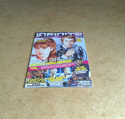 Infinity #18 Westworld/u.n.c.l.e. Double-Sided Poster Sci-Fi News Reviews + More