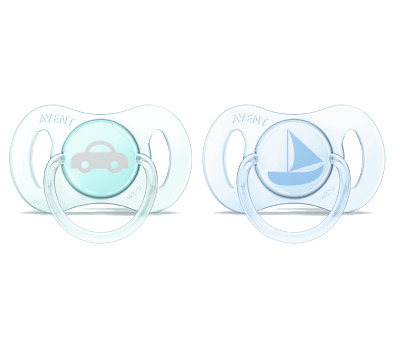 Philips Avent SCF151/01 Mini pacifier Dummy 2 Pieces 0-2 Months