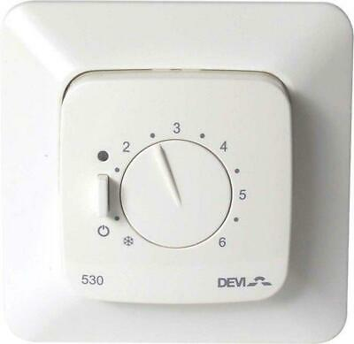 Devireg 530 GB Electronic Thermostat for Floor Temperature Control with Sensor