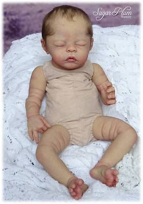 "Flesh colour Doe Suede Body 18"" - 20"" for doll kits with FULL ARM,  FULL LEG"
