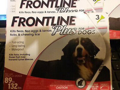 New Other Frontline Plus for DOGS 89-132lbs (6 Doses)