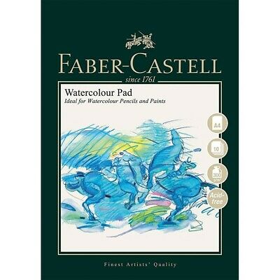 Faber-Castell Watercolour Painting Paper Pad Wire Bound A4