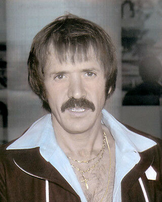 "SONNY BONO RECORDING ARTIST ACTOR POLITICIAN 8x10"" HAND COLOR TINTED PHOTOGRAPH"