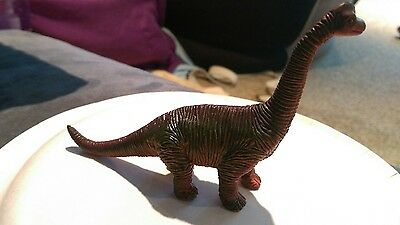 "Vintage RETIRED Scientific Toys Brachiosaurus Dinosaur Figure 8"" Long"