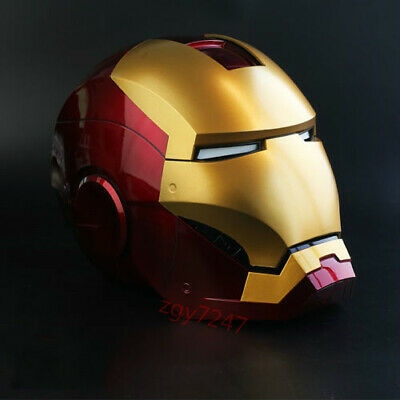 Roan X Lager MK3 Iron Man Helmet Hand Touch CONTROL ELECTRIC OPEN LED EYE