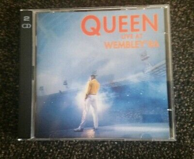 Queen wembley live 86 (CD 1992 Holland issue)... Mint...