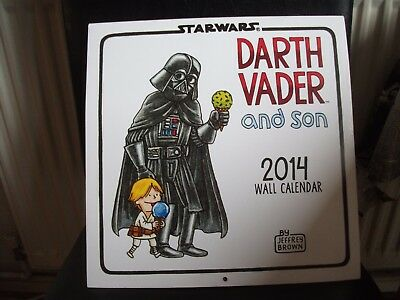 Darth Vader and Son 2014 wall Calendar never been used in a new condition.