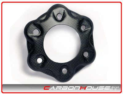 Ducati Panigale 1299/1199: Cover Sprocket Carrier 6 Holes Carbon