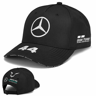 2019 Lewis Hamilton F1 Black KIDS Cap Children's Size Mercedes Formula One Team