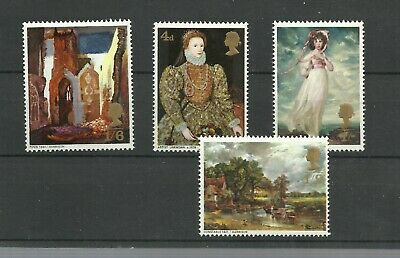 Great Britain 1968 British Paintings Mnh