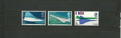 Great Britain 1969 Firts Fight Of The Concorde Mnh