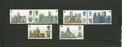 Great Britain 1969 British Architecture Cathedrals Mnh
