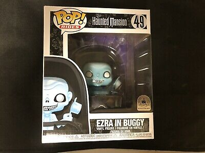 Funko POP! Rides Haunted Mansion Ezra In Buggy Disney Parks Exclusive #49