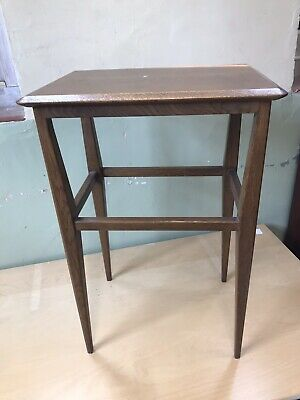 Arts And Crafts Cotswold School Liberty Style Oak Side Lamp Table
