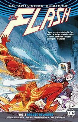 Flash TP Vol 3 Rogues Reloaded (Rebirth), Very Good Condition Book, Williamson,