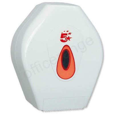 5 Star Facilities Jumbo Roll Dispenser W340xD145xH375mm White Code: 929984