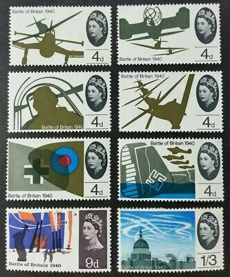 "Gb. 1965. #671/8. ""battle Of Britain"" Mint."