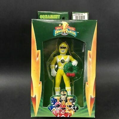 Power Rangers Christmas Tree.The Mighty Morphin Power Rangers Christmas Tree Ornament