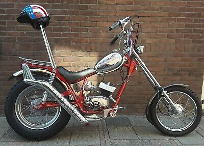 Fantic Chopper 50 CC 6 Speed  Fishtail
