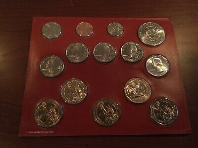2013 United States Mint Uncirculated Coin Set Denver