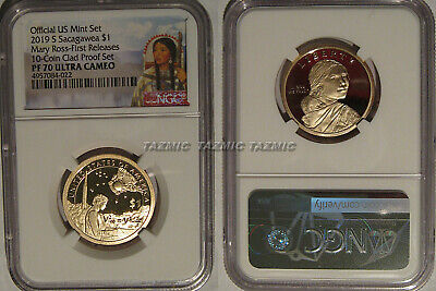 2019 S Proof Sacagawea Dollar $1 Mary Ross NGC PF 70 UCAM First Releases