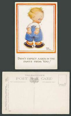 MABEL LUCIE ATTWELL Old Postcard Didn't Expect Kick in the Pants from You No.997
