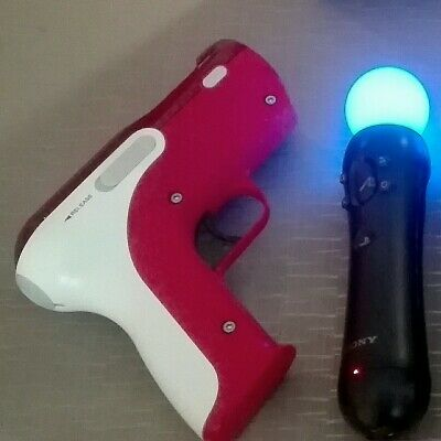 Mando Sony playstation move + pistola